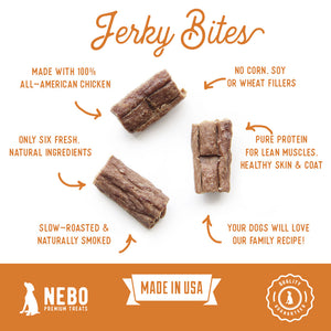 Tender Chicken Jerky Bites - Gourmet Dog Treat
