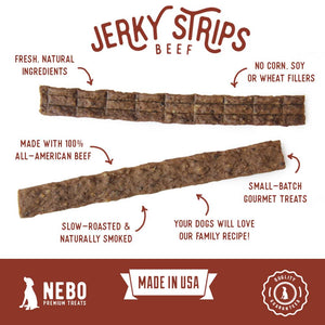 2-Pack Beef Lovers Jerky Treats - Nebo Dog
