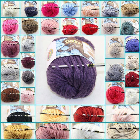 Special Thick Worsted 100% Cotton Yarn