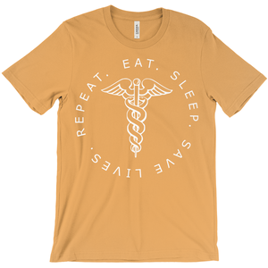Eat.Sleep.Save Lives.Repeat Unisex T-shirt