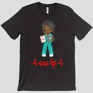 African American Nurse Life T-shirt