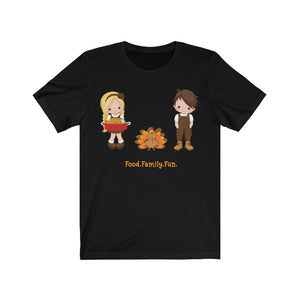 Food Family Fun Thanksgiving T-shirt