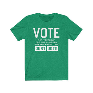 Just Vote Election T-shirt