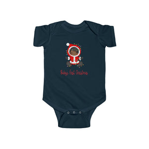 African American Baby's Christmas Infant Bodysuit