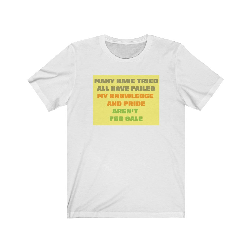 Knowledge Not For Sale T-Shirt