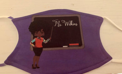 Ms. Wilkins Custom Mask