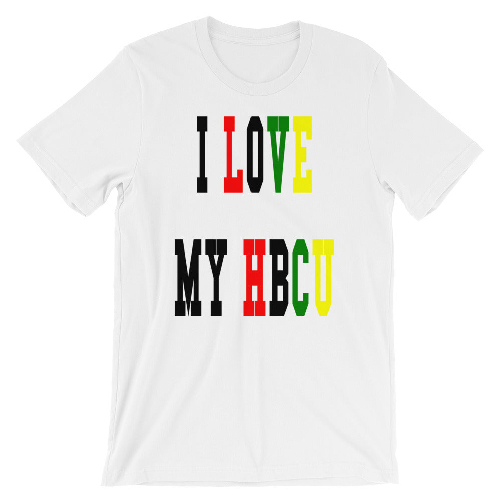 I Love My HBCU Short-Sleeve Unisex T-Shirt