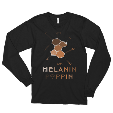 Long sleeve Melanin Poppin Unisex Shirt