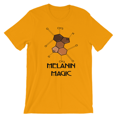 Melanin Magic Short-Sleeve Unisex T-Shirt