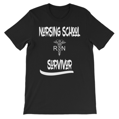 Nursing School Survivor Short-Sleeve Unisex T-Shirt