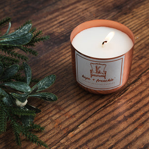 orange + clove, Candles, Festive Collection - hope + frenchie