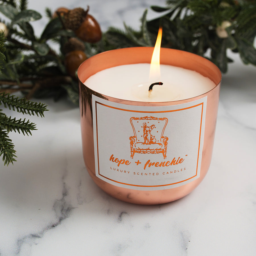 orange + clove, Candles, Festive Collection | Hope + Frenchie