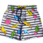 CUT OUT BOARD SHORTS