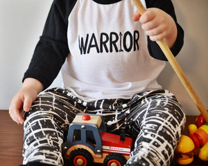WARRIOR RAGLAN TEE
