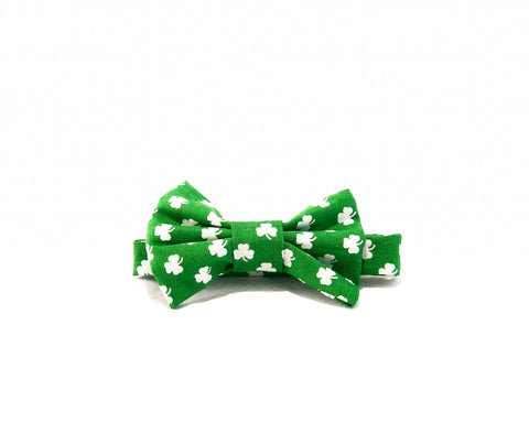 Lucky-Shamrock-Bow-Tie-Laying