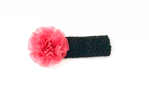 Mysterious-Pink-Beauty-Floral-Headband-Side