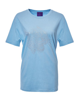 Crazy Leopard Silver-Blue T-Shirt