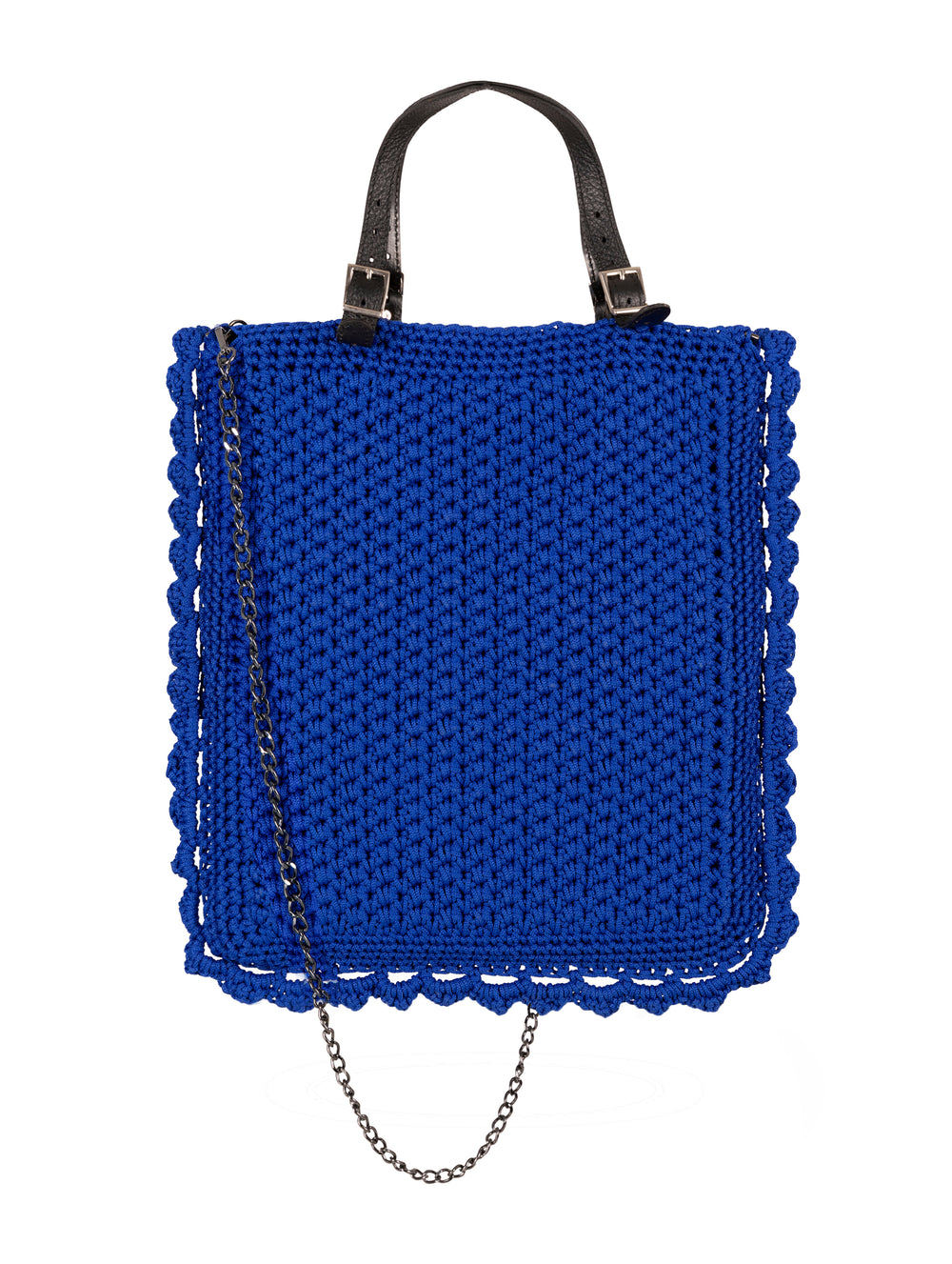 Crochet Bag Blue