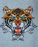 Tiger Sweatshirt Grey