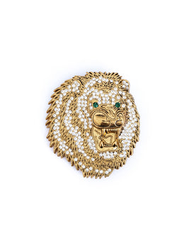 Lion Crystal Gold