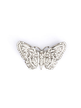 Butterfly Crystal Silver