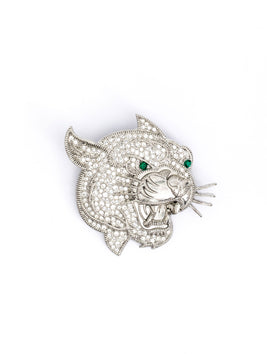 Leopard Crystal Silver