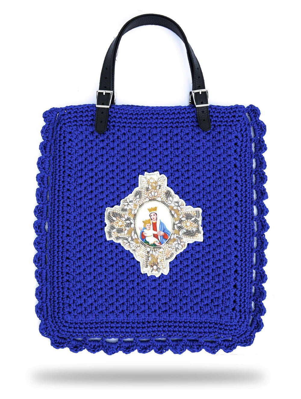 Mary & Jesus Bag Blue