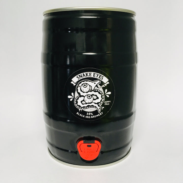 IN STOCK - Snake Eyes - Mini Keg - 5L