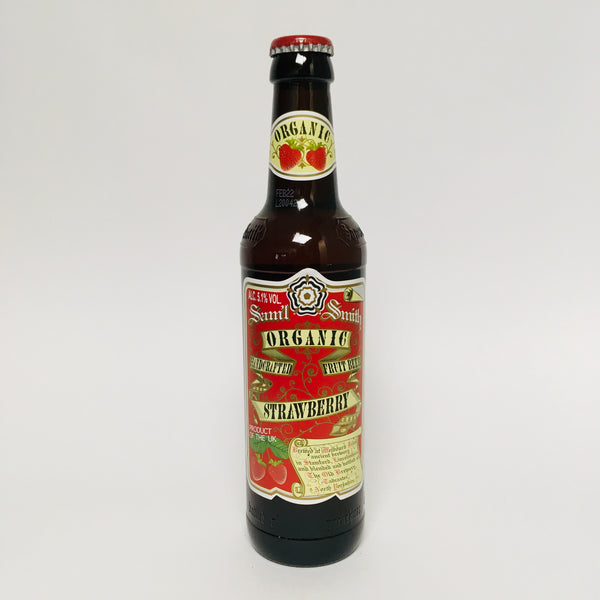 Organic Strawberry Fruit Beer