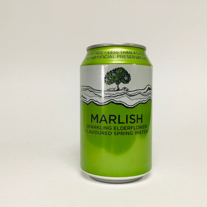 Marlish - Sparkling Elderflower flavoured spring water