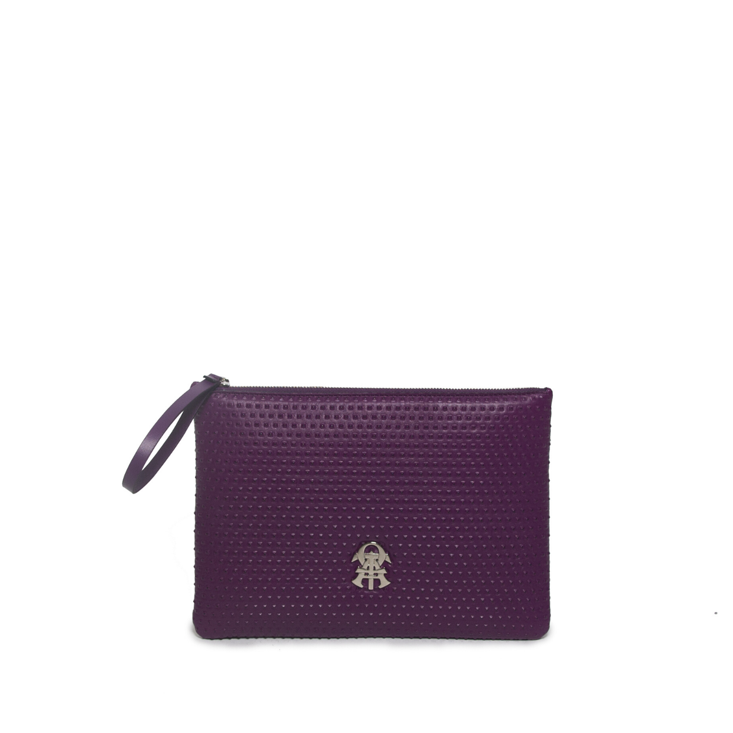 POCHETTE - Pyramid Aubergine Pochette For Men