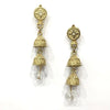 Traditional Light Weight Enamel Work With Gold-Plated Double Jhumki Earring