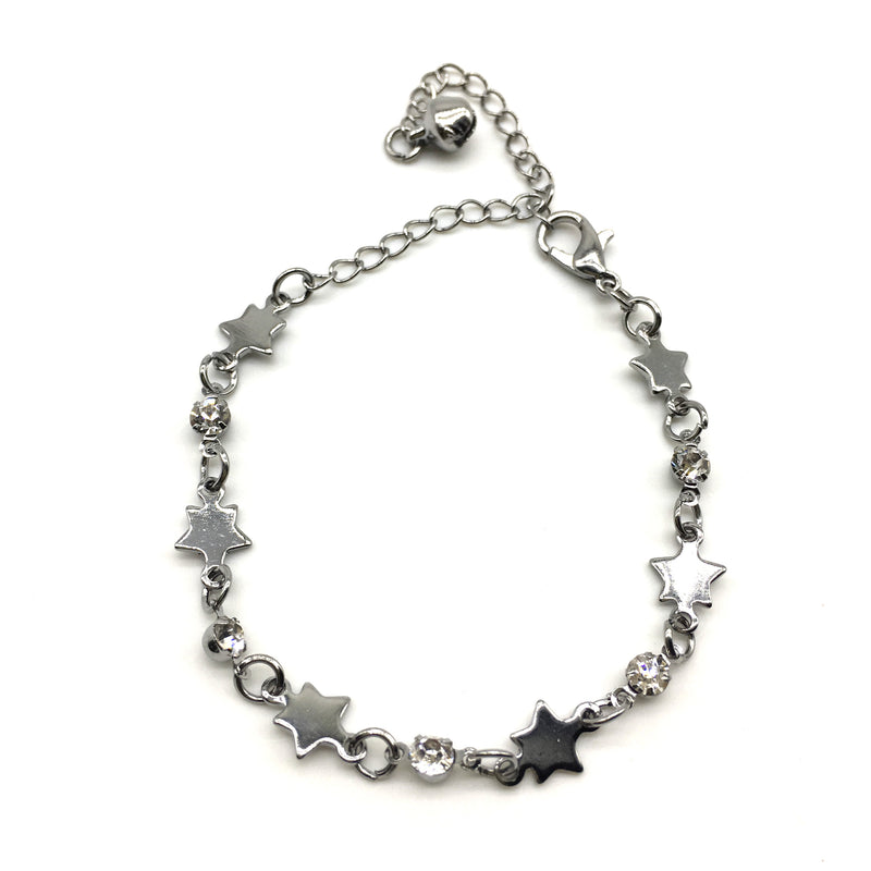 Silver Star Light Weight Bracelets