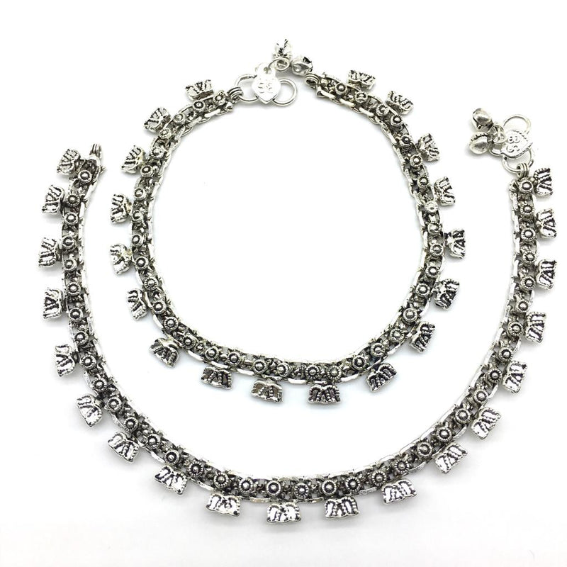 Silver Plated Anklet - DigitalDressRoom