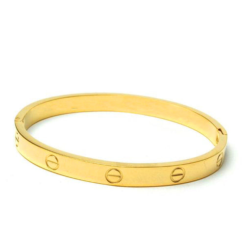 Digital Dress Room Gold Plated Bracelet