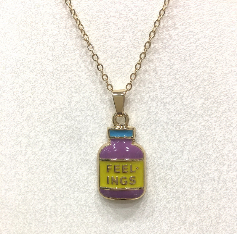 Modern Pendent Necklace Print