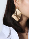 Gold Dangle Drop Earrings