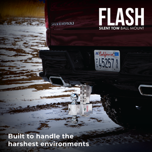 FLASH™ Silent Tow Ball Mount (STBM)