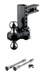 FLASH™ Solid Steel Ball Mount & Dual Lock Pack