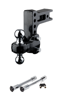 FLASH™ Solid Steel HD Ball Mount (SSBM HD) & HD Dual Lock Pack