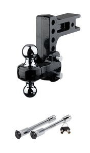 FLASH™ Solid Steel HD Ball Mount & HD Dual Lock Pack