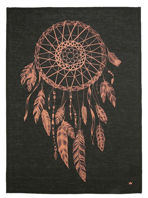 Dreamcatcher Tea Towel (copper)