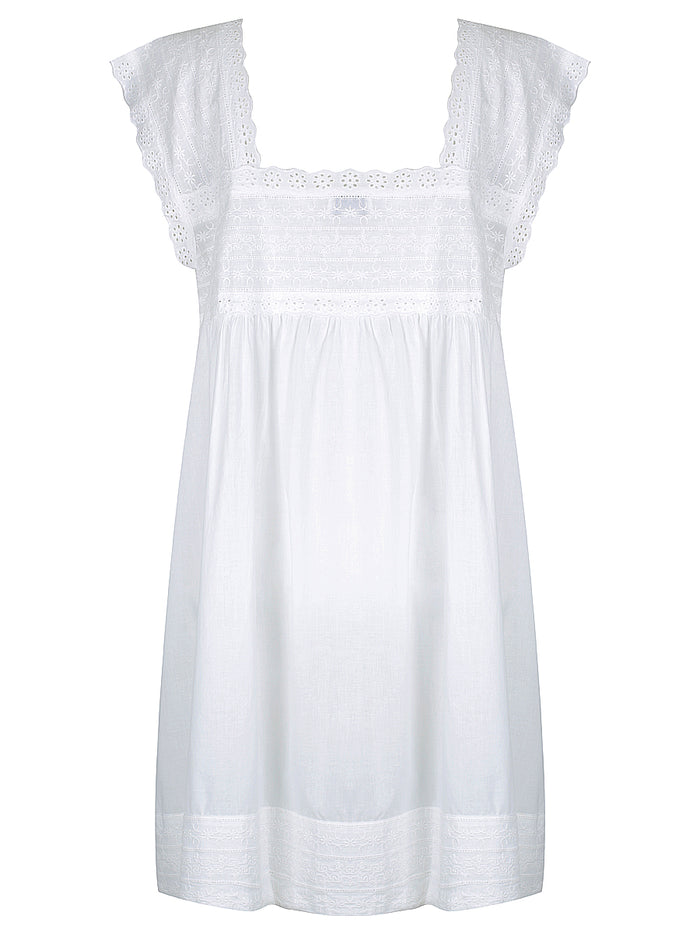 May White Nightdress