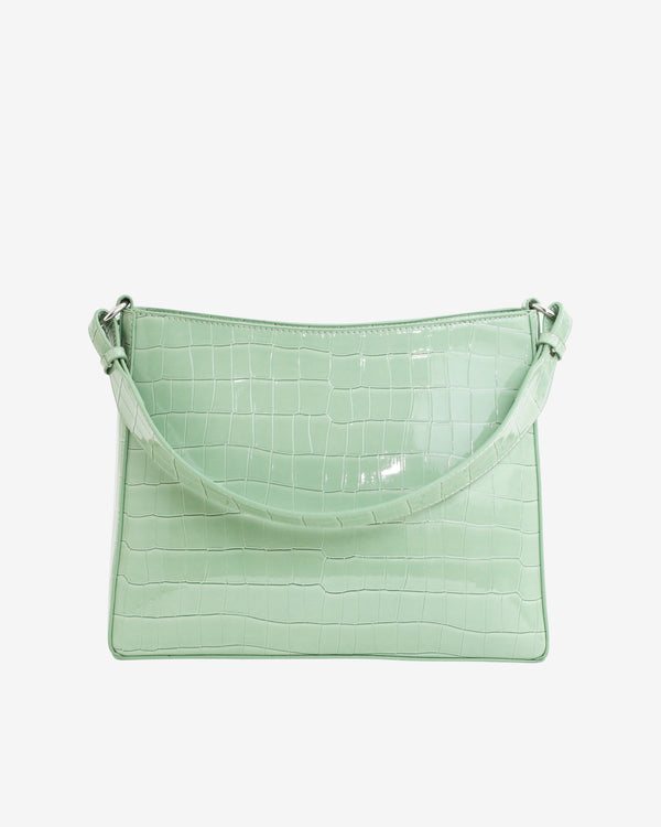 Hvisk AMBLE CROCO Handle Bag 095 Mint Green
