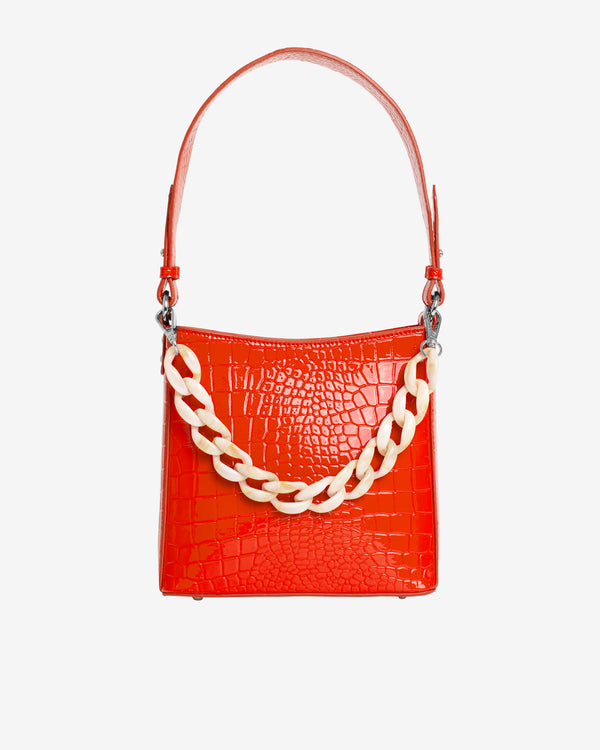 Hvisk AMBLE CROCO SMALL Handle Bag 019 Red