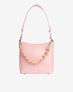 Hvisk AMBLE GLOSSY SMALL Handle Bag 074 Light Pink