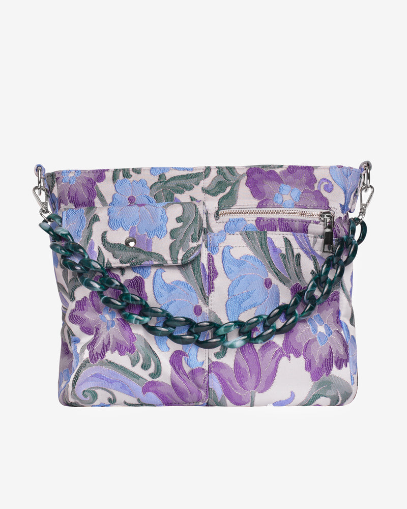 Hvisk AMBLE POCKET GARDEN Handle Bag 062 Light Purple