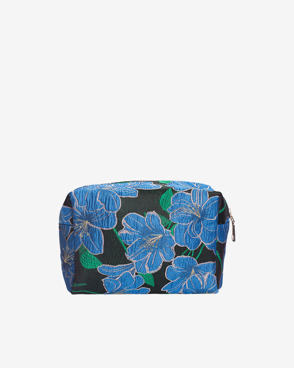 Hvisk AVER WATER FLOWER SMALL Makeup Bag 009 Black