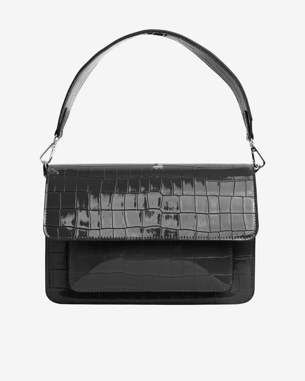 Hvisk BASEL CROCO Crossbody 009 Black