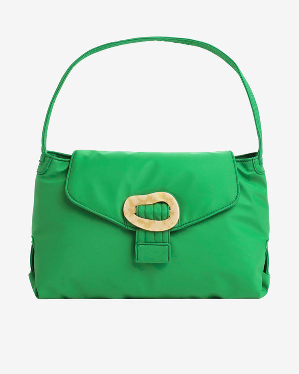 Hvisk BILLOW NYLON RECYCLED Handle Bag 069 Grass Green
